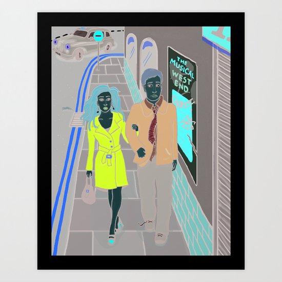Neverwhere Art Print