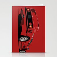 ferrari Stationery Cards featuring FERRARI F40 by MATT WARING