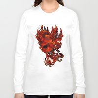 karma Long Sleeve T-shirts featuring Karma by angrymonk