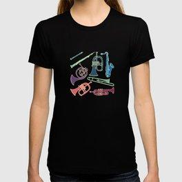 Wind instruments T-shirt