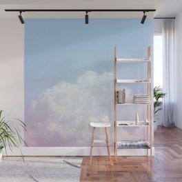 Dreamy Cotton Blue Sky Wall Mural