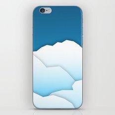 Paper Clouds iPhone & iPod Skin
