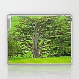 Old English Tree 1 Laptop & iPad Skin