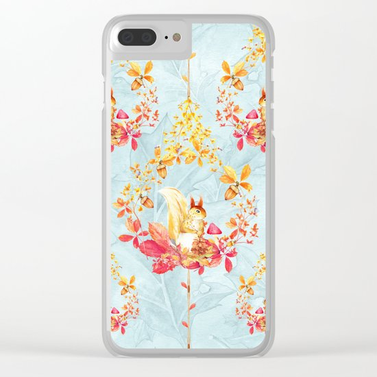 Autumn leaves #34 Clear iPhone Case
