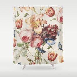 Vintage Botanical No. 3 Shower Curtain