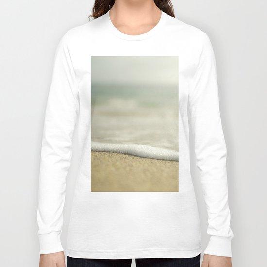 Beach Close Up Long Sleeve T-shirt