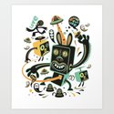 Little Black Magic Rabbit by exitman