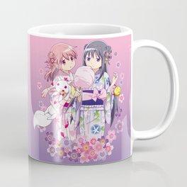 Madoka Kaname & Homura Akemi - Love Yukata edit. Coffee Mug