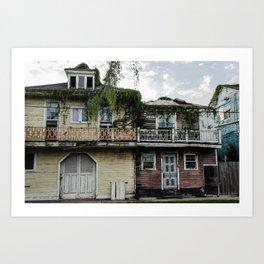Hurricane Katrina Ruins Art Print