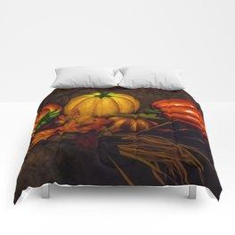 Autumn Pumpkins Comforters