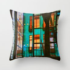 Outside My Window Throw Pillow