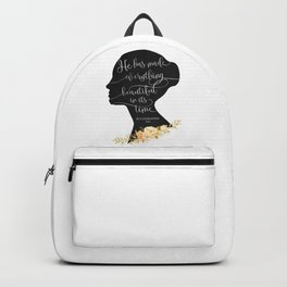 He has Made Everything Beautiful Backpack