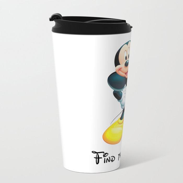 Find the mistake - Mickey Metal Travel Mug