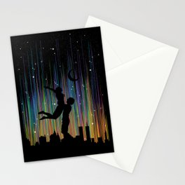 Bright Lights Stationery Cards