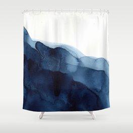 Indigo Duschvorhang