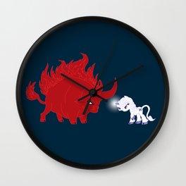 My Little Epic Battle Wall Clock