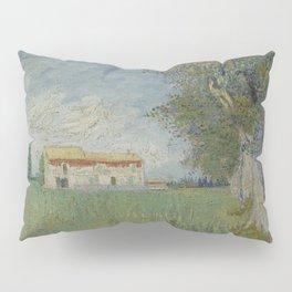 Farmhouse in a Wheatfield Pillow Sham