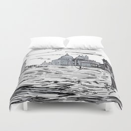 Venice City on the Water . Home Decor, Graphic Design Duvet Cover
