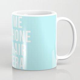 Penthouse - John Legend - Chance the Rapper - Lyrics - Blue version Coffee Mug