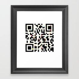 qrpack Framed Art Print