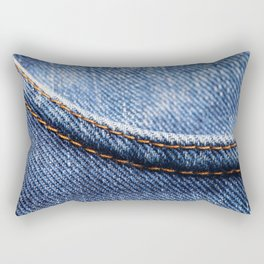 Jeans Rectangular Pillow
