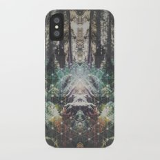 Forest Grid Slim Case iPhone X