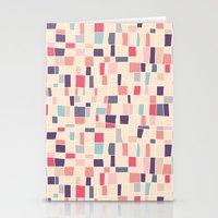 grid Stationery Cards featuring grid by Marta Olga Klara