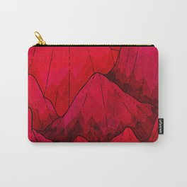 Rose red Rocks Carry-All Pouch