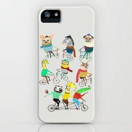 Bikers. iPhone Case