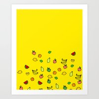 Cutie Fruity Art Print