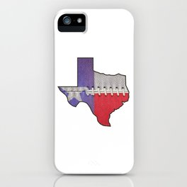 Texas High School Football iPhone Case
