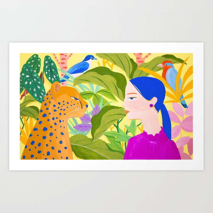 Communication Art Print