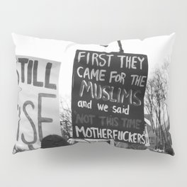 women's march philly Pillow Sham