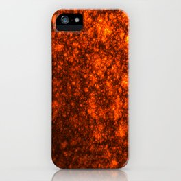 Molten Lava iPhone Case