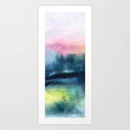 pastel horizon Art Print