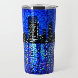 Perth Evening Blues Travel Mug
