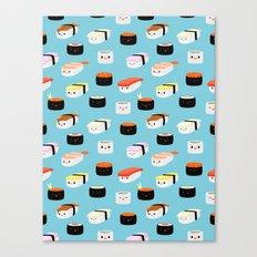 Sushi! Canvas Print