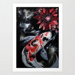 A Silent Universe Art Print