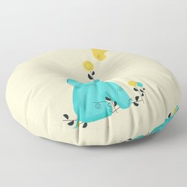 Baby Elephant Floor Pillow