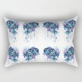Space Eyes Rectangular Pillow