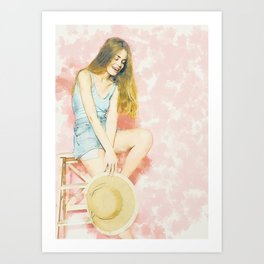 The Beauty Art Print