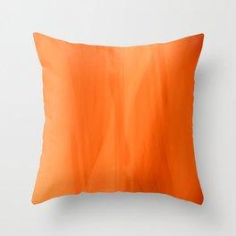 Color Serie 1 orange Throw Pillow