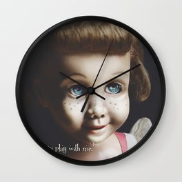Chatty Wants to Play Wall Clock