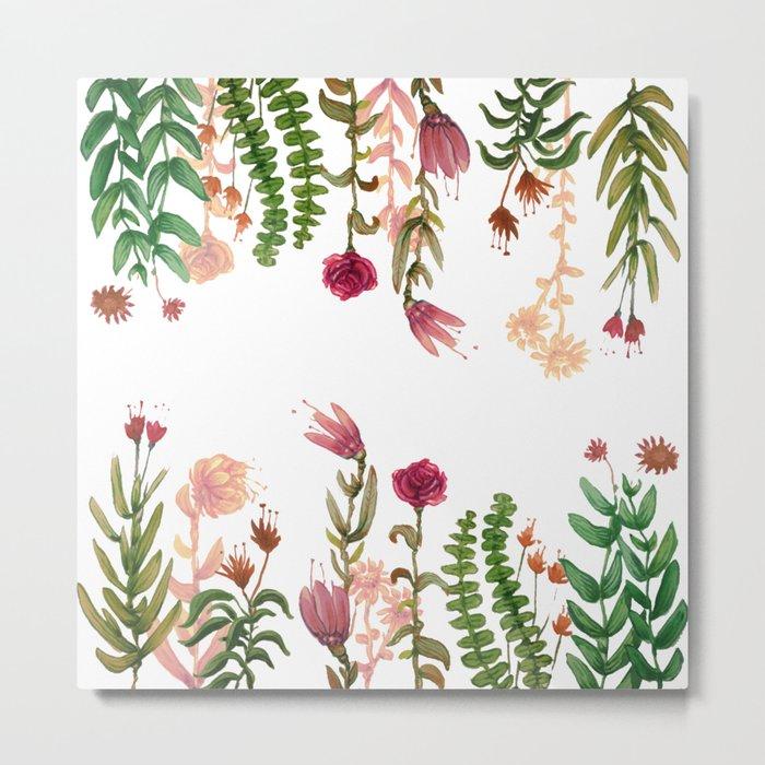 garden on mirror Metal Print