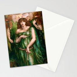 """Lizzie"" by Dante Gabriel Rossetti (1862) Stationery Cards"