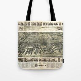 City of Hoboken, New Jersey (1904) Tote Bag