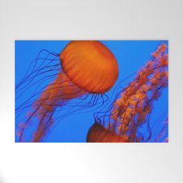 Color Jellyfish 1 Welcome Mat