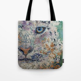 Royal Snow Leopard Tote Bag