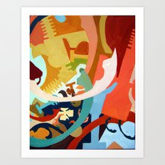 Untitled: Abstraction Art Print