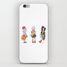 Personal Backpacks iPhone & iPod Skin